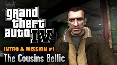 GTA 4 - Intro & Mission 1 - The Cousins Bellic (1080p)-2