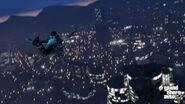 Trevor Skydiving at Night