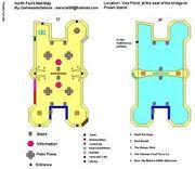 Mall floor map