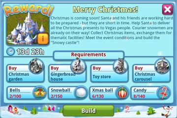 Christmas Reward Info
