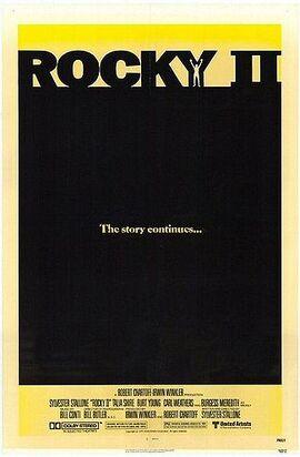 Rocky ii poster