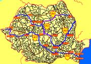 Snelwegen in Roemenië2