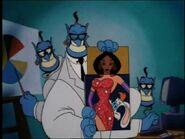 Jasmine as Jessica Rabbit