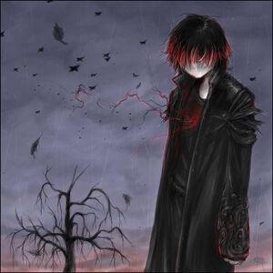 Normal anime emo vampire