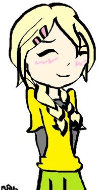 Akarui blushing byBR16