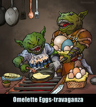 Omelette Eggs-travaganza by markatron2k
