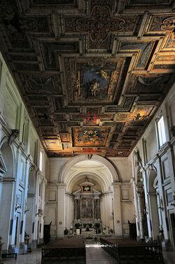 San Sebastiano fuori le mura interior