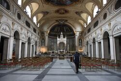 Santa Cecilia in Trastevere interior