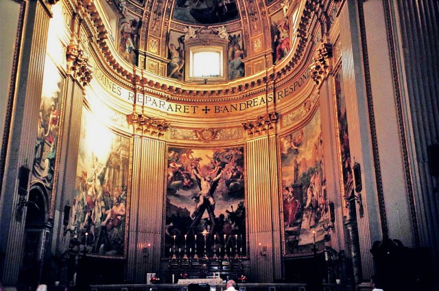 File:High Altar of the Church of Santa Maria della Valle .jpg