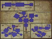 Underwater Temple map