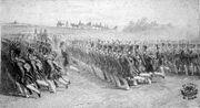 Wallachian infantery marching, 1837.jpg