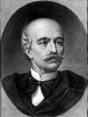 Misu Popp - Portretul lui Vasile Alecsandri