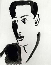Ilarie Voronca by Robert Delaunay
