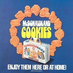 McDonaldland Cookies Ad