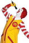 Ronald McDonald singing