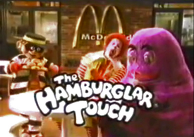 Hamburglar Touch commercial opening