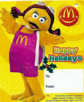 McDonaldland Seasons Greetings 2