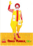Ronald McDonald waving 2