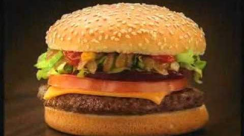 McDonalds McOz burger