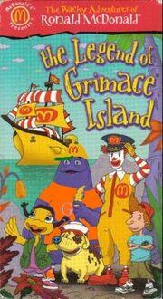 The Wacky Adventures of Ronald McDonald The Legend of Grimace Island