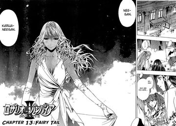 Rosario + Vampire II Manga Chapter 013