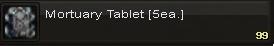 Mortuary tablet(5)