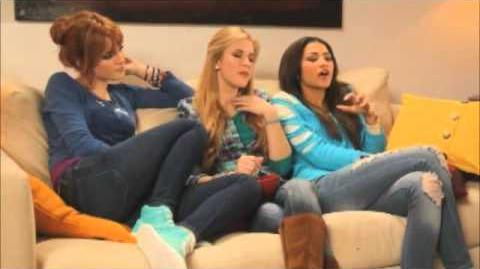 Radio Disney Total Access with Zendaya, Bella Thorne and Caroline Sunshine part 2