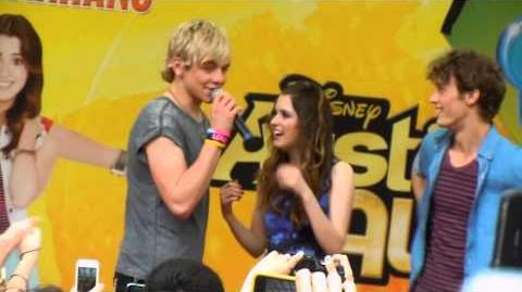 Ross Lynch and Laura Marano 23 2 13