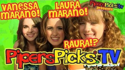 LAURA MARANO & VANESSA MARANO Finally Answer PIPER's RAURA Ross Fandom Question & Give Updates!
