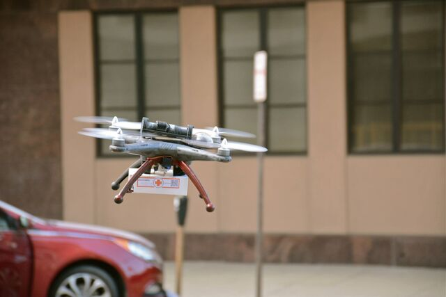 File:Medical Delivery Drone.jpg