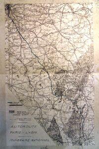 A6 1960 Tracé par la Nièvre.JPG