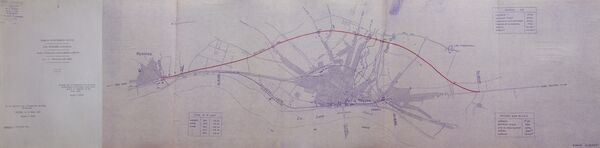 Déviation de Cosne Cours sur Loire RN7 1961