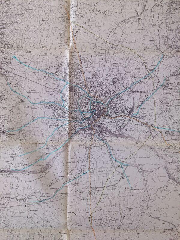 Déviation de Nevers 1985 RN7