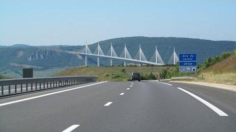 France A75 Marvejols - Millau
