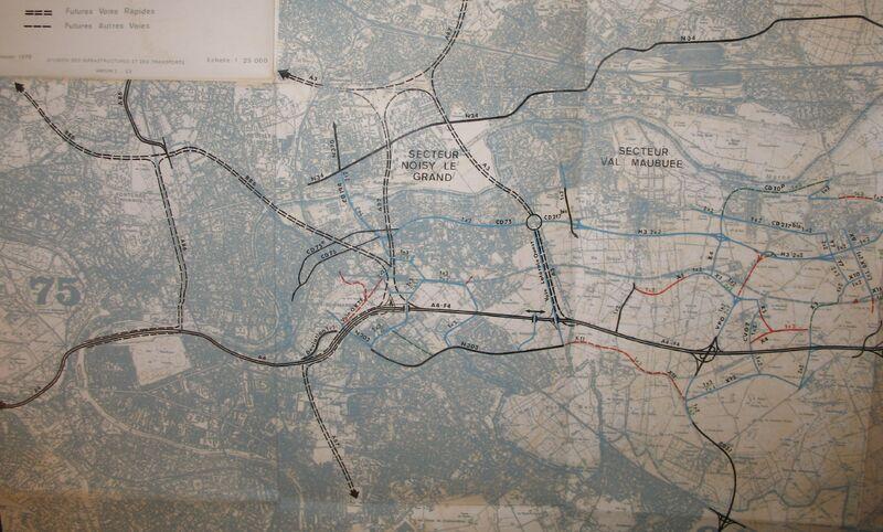 Voirie primaire - Marne-la-Vallée Ouest
