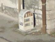 Borne RN67 Provenchères sur Marne