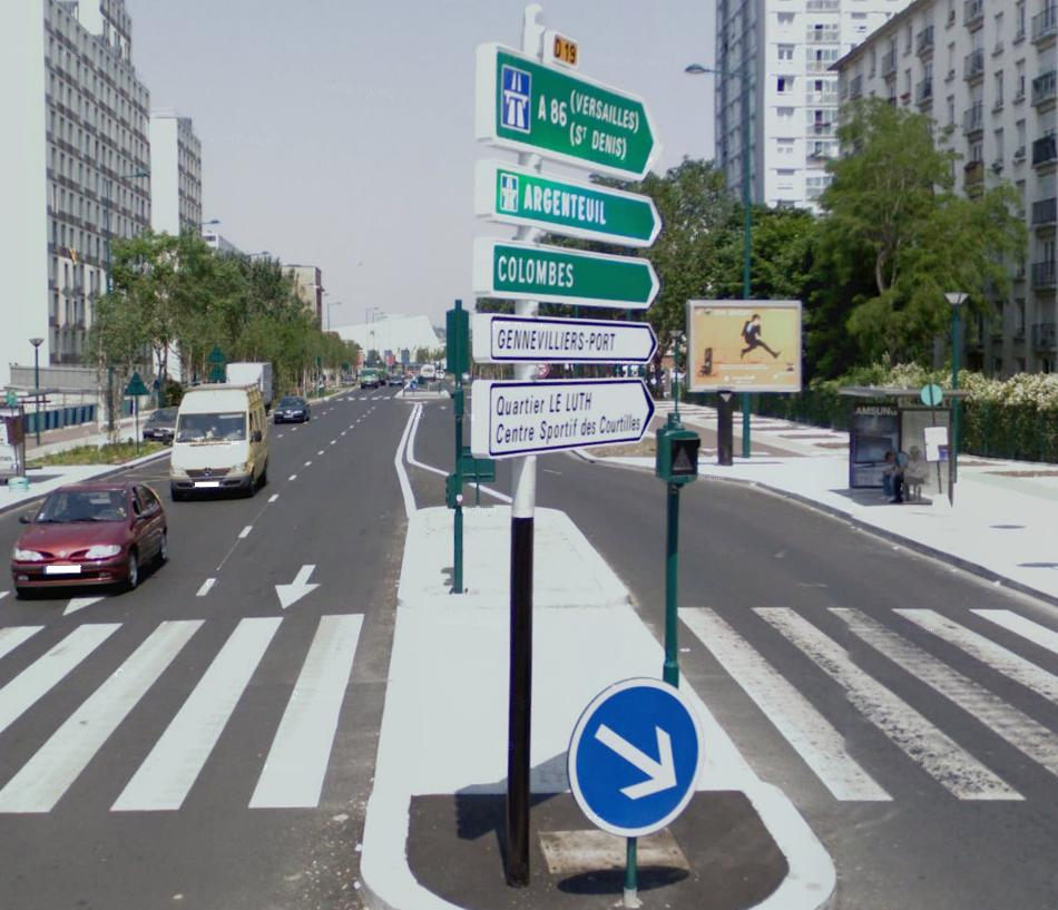 Route d partementale fran aise d19 92 wikisara - Chambre departementale des huissiers 92 ...