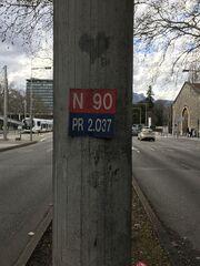 RN90 - PK Grenoble