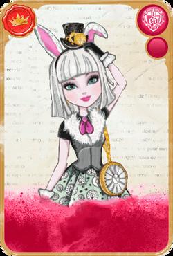 Bunny Blanc Card