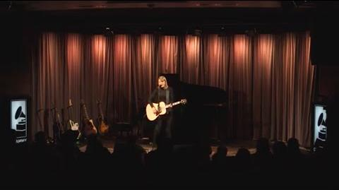 "Taylor performs ""Blank Space"" at The GRAMMY Museum"