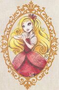 Princess Apple White Book Art