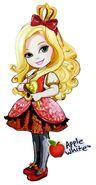 Profile art - Princess Friend Toddler Apple