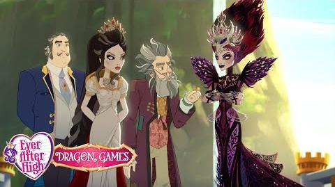 Team Snow White versus Team Evil Queen Dragon Games Ever After High