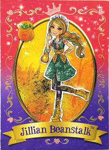 Jillian Beanstalk Card