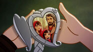 The Cat who cried a wolf - 22 family locket