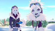 EW - SnowDay - Jackie, NW we let him freeze her