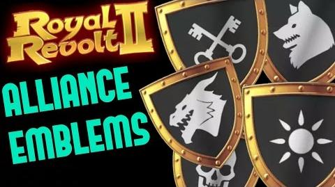 ROYAL REVOLT 2 - ALLIANCE EMBLEMS & TAX BONUS tutorial