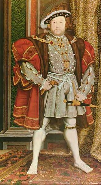 Henry-VIII-kingofengland 1491-1547