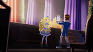 Blondie doing her MirrorCast Show, webisode Blondie's Just Right