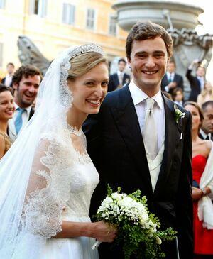 Prince Amedeo Wedding